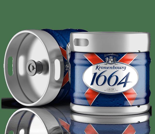 Fûts de bière 1664 à la vente sur Grenoble
