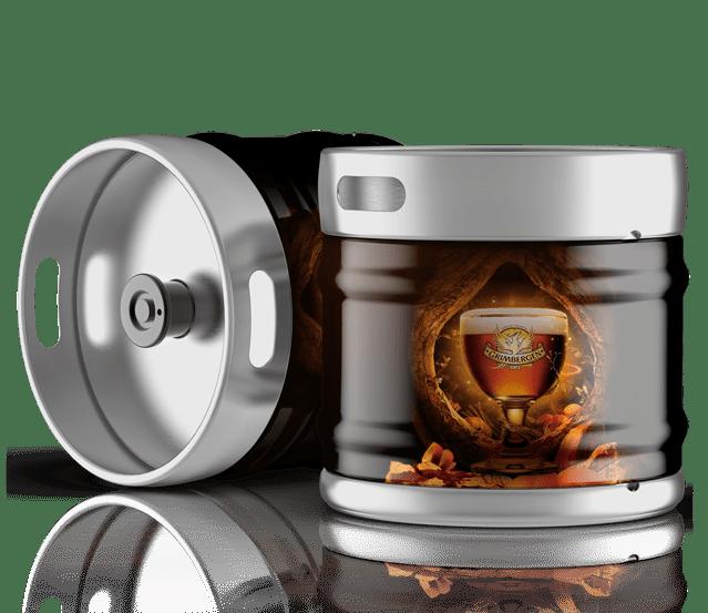 Fûts de bière Grimbergen ambrée à la vente sur Grenoble