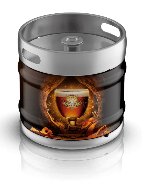 Vente de fûts de bière Grimbergen ambrée à Grenoble