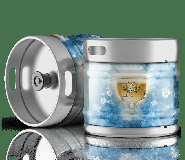 Fûts de bière Grimbergen blanche à la vente sur Grenoble