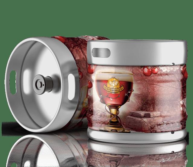 Fûts de bière Grimbergen kriek à la vente sur Grenoble