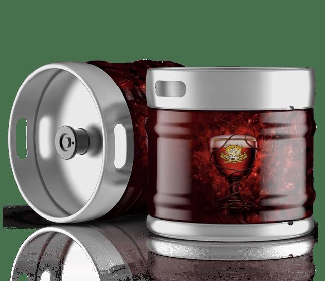 Fûts de bière Grimbergen rouge à la vente sur Grenoble