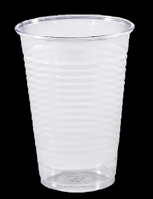 Gobelets plastique transparent